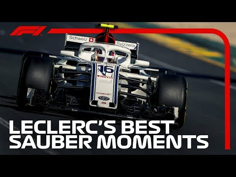 Charles Leclerc's Best Bits at Sauber
