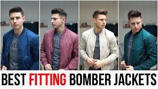 BEST FITTING BOMBER JACKETS FOR MEN IN 2018 (Asos, Pull&Bear, H&M, New Look, Bershka)