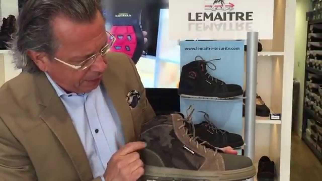 Chaussure de sécurité légère et souple homme 65,95€ HT LISASHOES