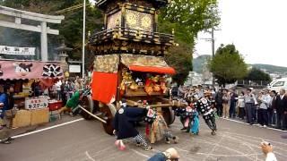 2009秋の犬山祭車山揃え名栗町~熊野町~本町~余坂町~下本町