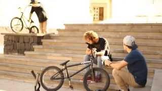 Тренировка команды BMX