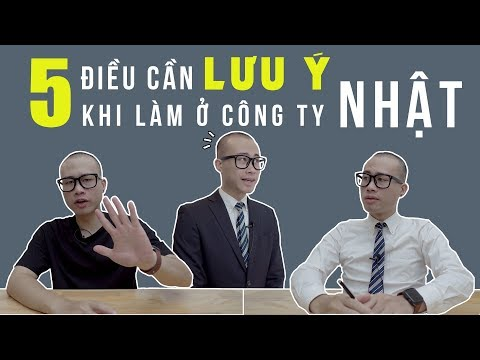 5 ĐIỀU CẦN LƯU Ý KHI LÀM Ở CÔNG TY NHẬT || 日本の会社で気をつけなればならない5つのポイント