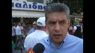 Ο κ. Κώστας Αγοραστός μιλάει για Θεσσαλικό Σιδηρόδρομο, Τρίκαλα, 26-6-2012