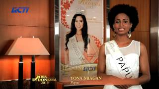 Yona Luvitalice Miagan for Miss Indonesia 2015
