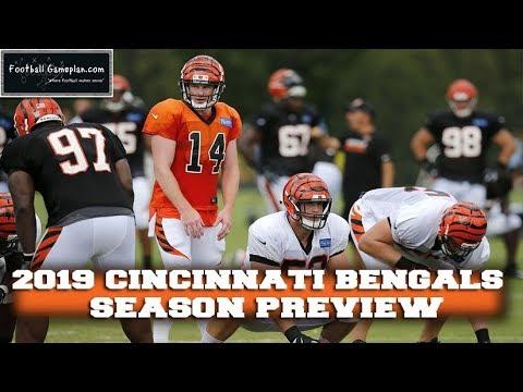 Football Gameplan's 2019 NFL Team Preview: Cincinnati Bengals