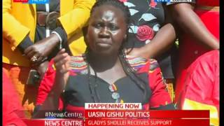 News Centre - 26th May 2017 - Gladys Shollei receives support from Uasin Gishu female politicians