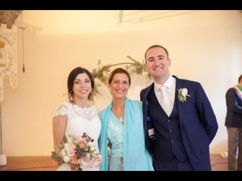 Real Wedding * From the UK to Italy