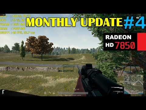 HD 7850 / R7 265 | Playerunknown's Battlegrounds - 1080p Very Low