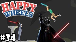 MARBOSSA DAS GENIE !   KÄMPFEN WIE EIN JEDI ! | HAPPY WHEELS #34