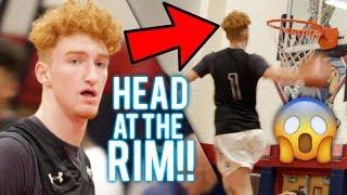 Nico Mannion HEAD AT THE RIM!?!