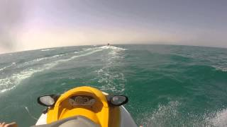 preview picture of video 'Go Pro Hero HD: Yamaha vx700 @ Zarzis (Tunisia)'