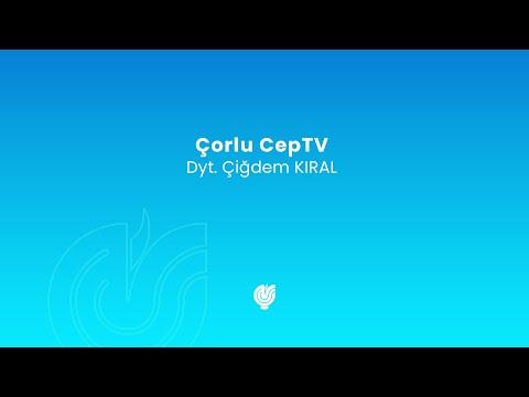 Eğitim - CepTV - 3.04.2018 - Diyetisyen Çiğdem KIRAL