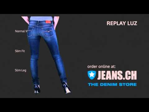 Replay Luz Jeans Fit Videos von JEANS.CH