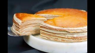 乌龙茶千层蛋糕 Oolong tea crepe cake