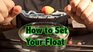 How to Float Fish Episode 3: (How to Set your Float)