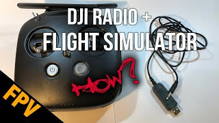 Using the DJI Digital FPV Radio with the Liftoff Flight Simulator ( on a Mac )