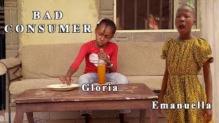 BAD CONSUMER - EMANUELLA & GLORIA (mark angel comedy) (mind of freeky comedy)