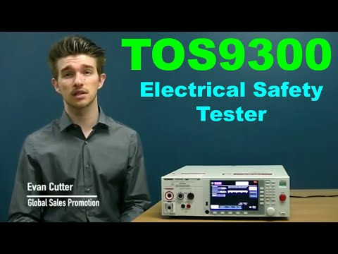 Automated Safety Tests with the TOS9300