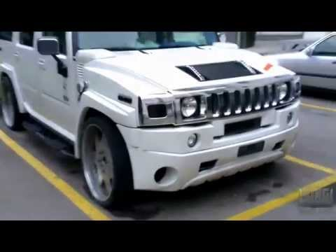 Modified Hummer H2 Mp3