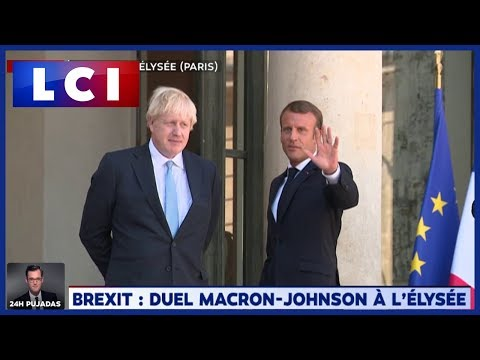 Emmanuel Macron à Boris Johnson :