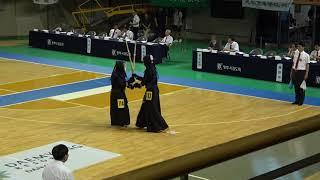 2019 단별검도대회 남자 3단부 1회전 - 조현수 vs 김현종 [검도V] kendov