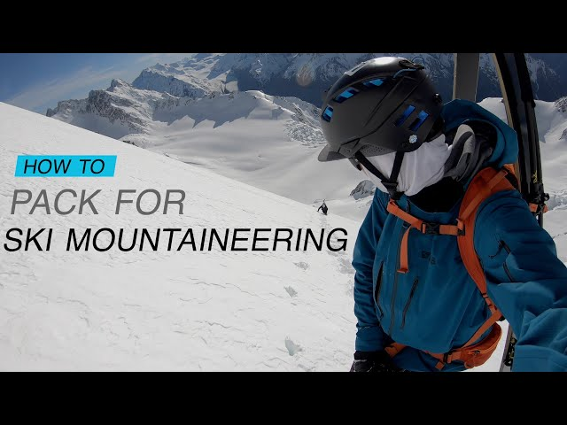 What's in my Ski Mountaineering Bag // DAVE SEARLE