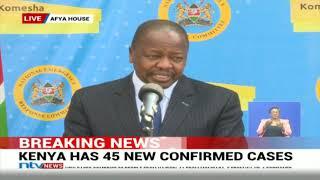 Covid-19: Kenya cases soar to 535 - VIDEO