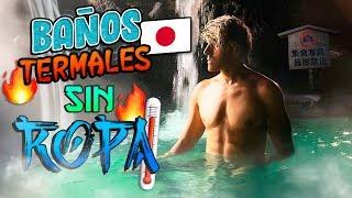 ASÍ SON LOS BAÑOS PÚBLICOS EN JAPÓN SIN 👕👖  | POLINESIOS VLOGS