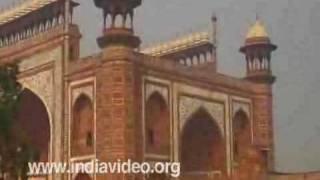 Exterior view of Taj Mahal Entrance