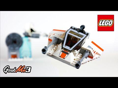 Vidéo LEGO Star Wars 75268 : Snowspeeder