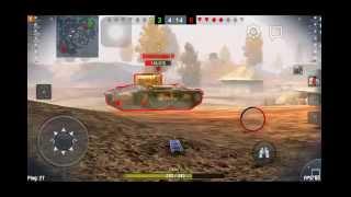 World of Tanks Blitz! Немецкая ПТ-САУ Hetzer! 7 фрагов