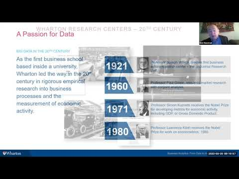 Wharton   Business Analytics Program Webinar (Online)   Webinar ...