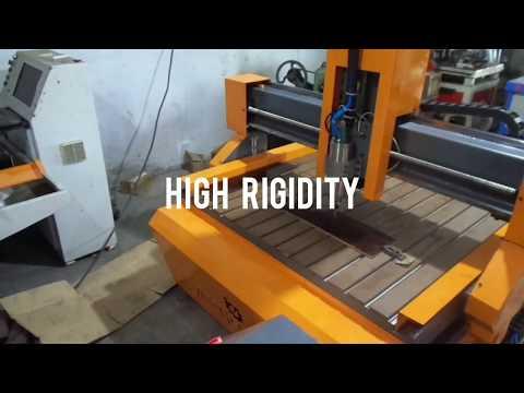 Heavy Duty Mini 3D Wood Carving Machine
