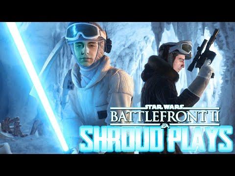 Shroud Plays Star Wars Battlefront II