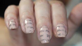 Einfache Nagellack Muster Zum Selber Machen Lackieren