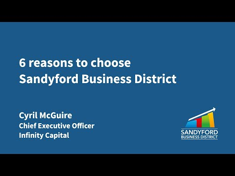 6 reasons to choose Sandyford Business District – Cyril McGuire