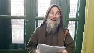 Fratel Biagio riprende il cammino da pellegrino. Video-messaggio