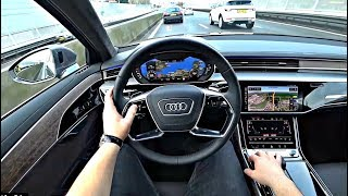 The New Audi A8 2018 Test Drive | Kholo.pk
