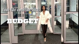 HOW TO: Look like a million bucks - on a BUDGET || Designer shopping tips