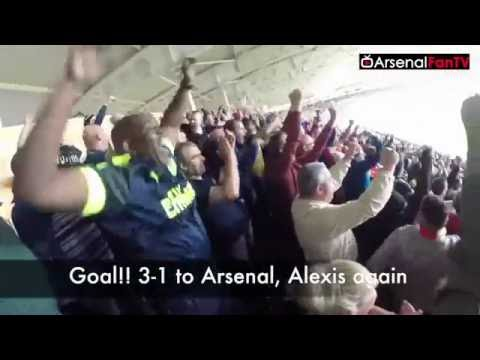 Download Arsenal Fans Takeover The KCOM Stadium | Hull City 1 Arsenal 4 HD Mp4 3GP Video and MP3