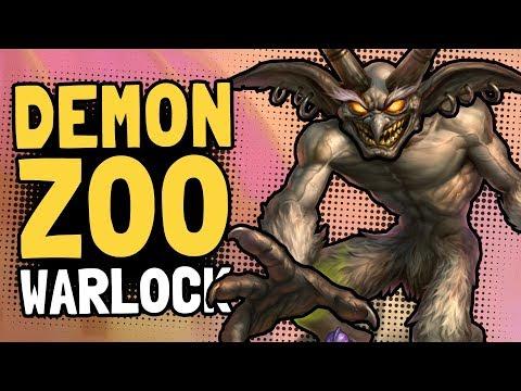 Demon Zoo Warlock Decksperiment - Hearthstone