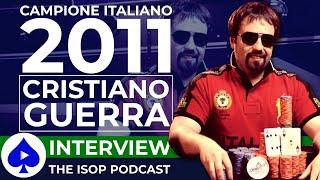 TG POKER Intervista Il Vincitore Del MAIN EVENT ISOP Cristiano CRISBUS GUERRA