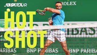 Hot Shot: Nadal Rockets Forehand Past Pella | Monte-Carlo