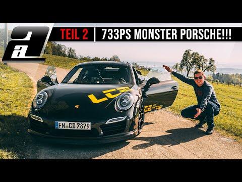 Teil 2 | 733PS Porsche 911 Turbo S auf der STRASSE | LCE Performance | REUPLOAD
