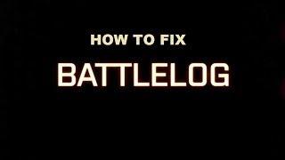 Battlefield 4 Tutorial  - Battlelog (How to Fix Super Easy)