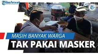 16 Warga Terjaring Sidak Masker, Kasatpol PP Kota Denpasar: Masih Banyak Warga Tak Pakai Masker