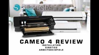 Silhouette Cameo 4 im Test - Anschluss, Einstieg und Review