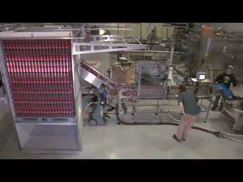 Cask Brewing Systems New Automated Depalletizer Automated Depalletizer V2.0