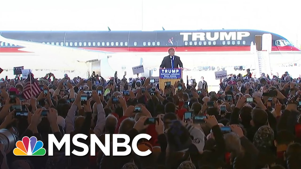Donald Trump: World Truly Hates The United States   MSNBC thumbnail