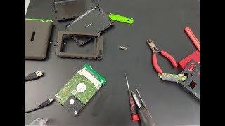 hard disk repair transcend storejet 